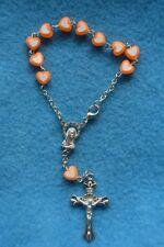 Réf 17 bracelet religieux fille dizainier chrétien dévotion pèlerinage chapelet