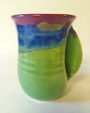 Hand Warmer Mug Mossy Creek Right Hand Clay In Motion Neher Pottery