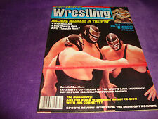 SPORTS REVIEW WRESTLING 12/86 andre the giant/jim cornette/midnight rockers