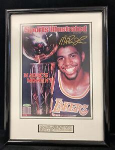 Magic Johnson Los Angeles Lakers SIGNED 8x10 Sports Illustrated Photo UDA