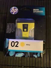 Genuine HP 02 Yellow Ink Cartridges For Photosmart Printers