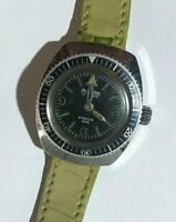Vintage Montre Plongée Diver MORTIMA Watch CATTIN C.64 Femme..Made France Work