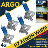 4x H7 Xenon White Headlight 100w Car Bulbs Dipped Dipped 12v Headlamp Hid Light