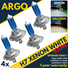 White H7 100watt +50% =100w Xenon Gas Hid Halogen Bulb Hi Or Low Beam Main Dip