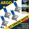 H7 100w 8500k Xenon Upgrade Hid Super White Ice White Headlight Bulbs 499 477 4x