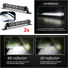 8 inch 60W LED Spot Work Light Bar Driving Fog Lamp For Car SUV ATV Off-Road