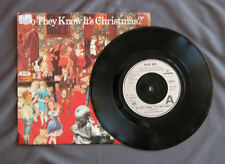 """SG 7"""" 45 rpm  BAND AID - DO THEY KNOW IT'S CHRISTMAS?"""