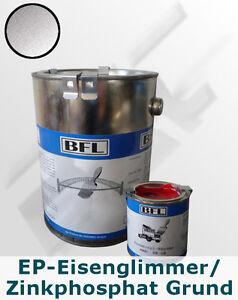 1xSet(2,5kg Epoxidharz-Eisenglimmer/Zinkphosphat Grund+0,25kg Härter) 26,15€/kg