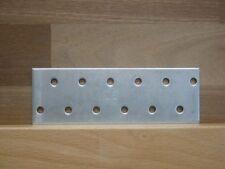 100 Stück Lochplatten 40 x 115 x 2 mm TOP Qualität Lochbleche / Flachverbinder