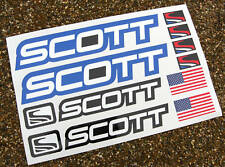SCOTT Mountain Bike MTB Cycle Frame Decals Stickers BLUE