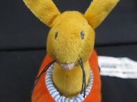 IKEA FABLER BABY RATTLE BUNNY RABBIT CARROT RACECAR SOFT PLUSH STUFFED ANIMAL
