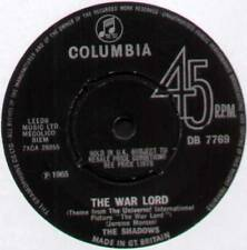 "SHADOWS ~ THE WAR LORD / SHIMMY LIKE MY SISTER ARTHUR ~ 1965 UK 7"" SINGLE"