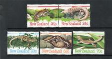 NEW ZEALAND MNH 1984 SG1340-1344 AMPHIBIANS AND REPTILES