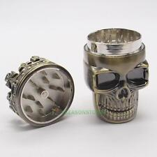Cool King Skull Herbal Herb Bullet Shaped Tobacco Grinder Smoke Grinders Crusher