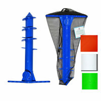 Beach Umbrella Sand Anchor | Sand Auger | Umbrella Holder for All Sizes w Bag