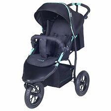 Knorr Baby Joggy S Dreirad Sportwagen mit Schlummerverdeck schwarz-grün NEU