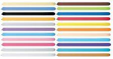 Pack of 10 Qualatex Latex Modelling Balloons - 160Q + 260Q + 350Q + 646Q