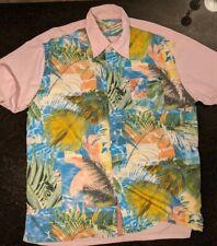 pink robert graham short sleeve shirt