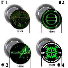 Type O Negative - 4 chapas, pin, badge, button