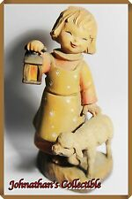 """JC&C -Limited Edition- Vintage 1970s ANRI Wood Carving """"Leading the Way"""" - MINT"""