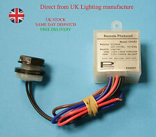 New Preslite CPCR1 Automatic Dusk Dawn Sensor Switch Remote Photocell 20mm 6 Amp