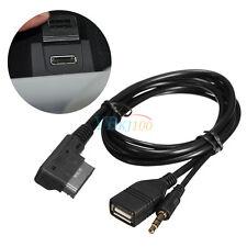 Cavo AUX Audio AMI MMI MDI Adattatore Interfaccia USB Charger HH