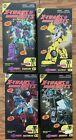 X-Transbots B1 B2 B3 B4 G2 Transformers Stunticons Masterpiece Set of 4