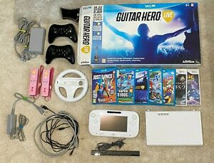 Nintendo Wii U 8Gb + Mario Kart 8 + jeux + accessories