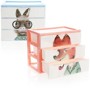 2x Schubladenbox - Kunststoff-Aufbewahrungsbox [Auswahl variiert]