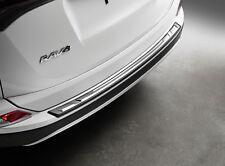 2016-2018 Toyota Rav4 Stainless Steel Rear Bumper Protector Genuine OEM