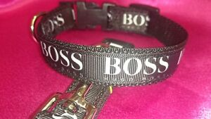 """XXX SMALL DOG COLLAR + LEAD 6""""-8"""" NECK.  Micro dog, T Cup.Chihuahua"""