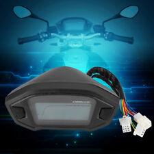 Universale LCD Digitale Contachilometri Moto Tachimetro Indicatore impermeabile