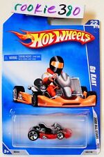 2008 Hot Wheels ALL STARS #62 ∞ GO KART ∞ ORANGE NEW CARD