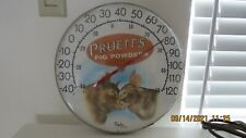 Pruett's Pig Powders Thermometer 12 inches wide