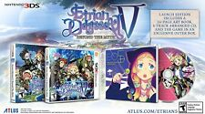 Etrian Odyssey V: Beyond the Myth Launch Edition (Nintendo 3DS, 2017) BRAND NEW