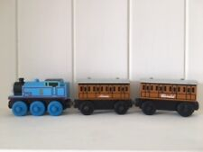 thomas the tank engine. Wooden Thomas, with Annie and Clarabel