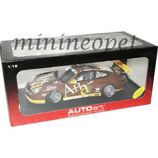 AUTOart 80489 PORSCHE 911 GT3R ASIAN CARRERA CUP 2004 AHA 1/18 BROWN