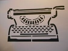 Schablone Schreibmaschine auf A4