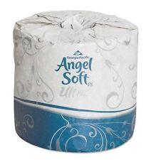 Angel Soft Ultra Bathroom Tissue, 2 Ply, 400 Sheet Roll, 16560 - Case of 60