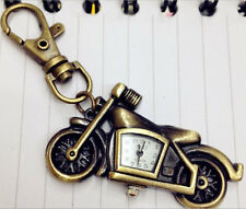 Metal Motorcycle Bike Key Ring Keyrings Holder Pocket Watch Novelty Gift him