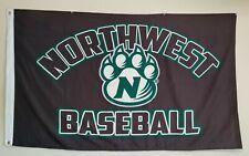 Northwest Missouri State Bearcats Baseball Flag Large 3x5