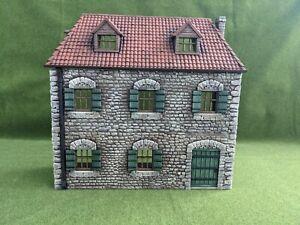 PAINTED Diorama European Farmhouse Facade 1/30 suits King & Country Thomas Gunn