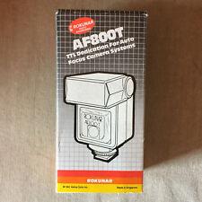 Rokunar Af800T Flash For Minolta Dynax 5000i 8000i 7000i