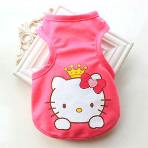 Small Chihuahua Dog Clothes Pet Puppy Summer Vest Cat Shirt for Teacup yorkie
