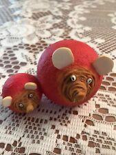 Enesco Home Grown Beetroot Radish Mice #4002358 Beet Mouse new w/o box