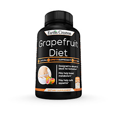 Grapefruit Diet All Natural Appetite Suppressant 120 Tablets