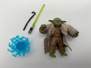 Star Wars YODA Figure With Force Blast ROTS Blu-ray Commemorative Episode 3 VC20