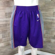 Vintage Phoenix Suns Nike Swingman NBA 1990's Basketball Shorts Large Sewn Patch