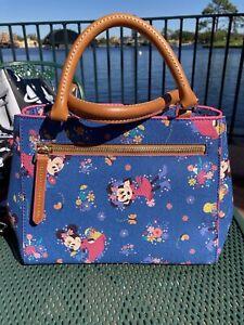 Disney Parks 2021 Epcot Flower & Garden Festival Satchel Bag Dooney & Bourke NWT