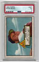 1952 Topps Baseball #287 Steve Bilko - PSA 5 EX